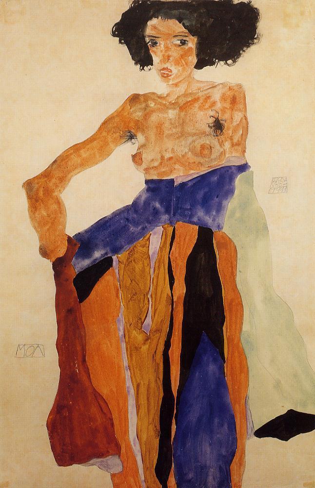 Moa - Egon Schiele