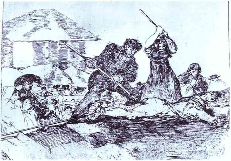 Mob - Francisco Goya