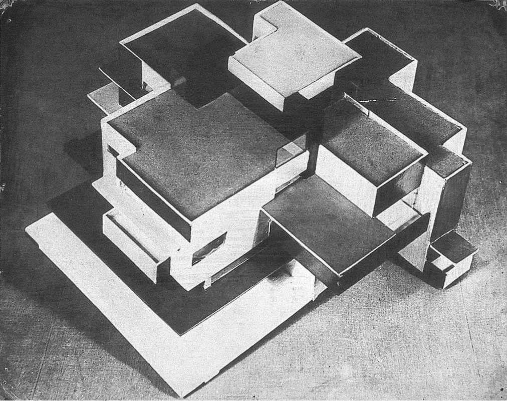 Model private house - Theo van Doesburg