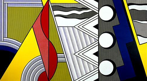 Modern painting with clef - Roy Lichtenstein