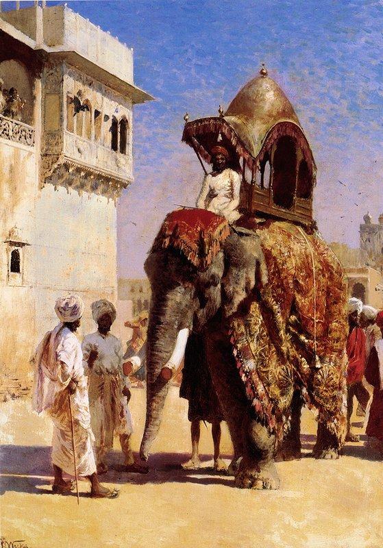 Mogul's Elephant - Edwin Lord Weeks
