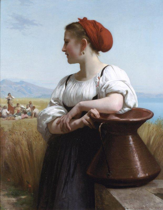 Moissoneuse - William-Adolphe Bouguereau