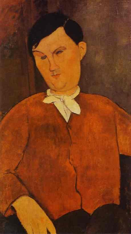 Monsier Deleu - Amedeo Modigliani