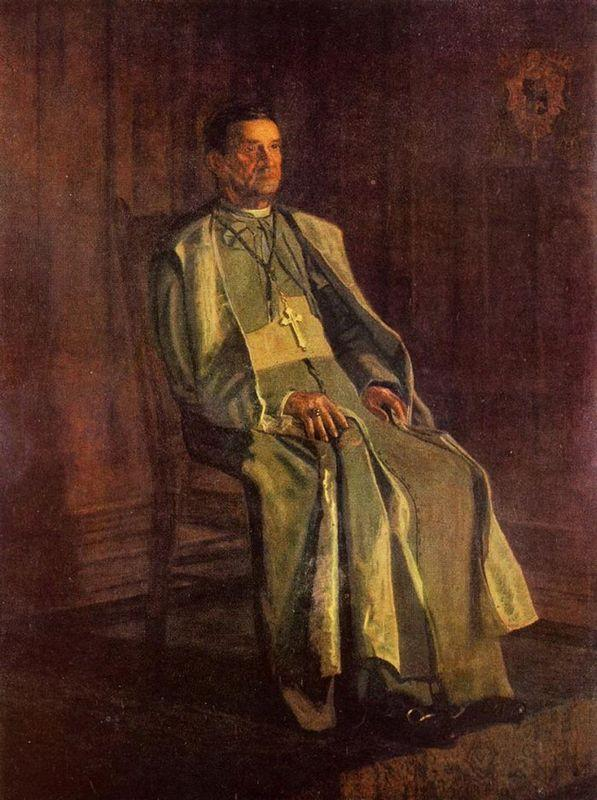 Monsignor Diomede Falconia - Thomas Eakins