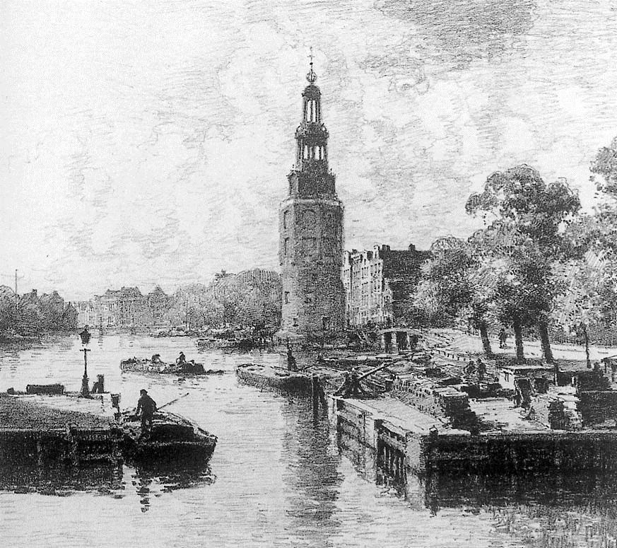 Montelbaanstoren In Amsterdam - Cornelis Vreedenburgh