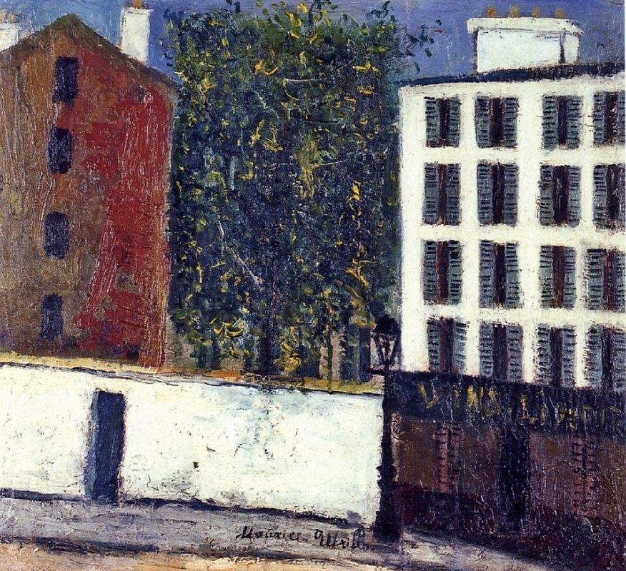 Montmartre Street - Maurice Utrillo