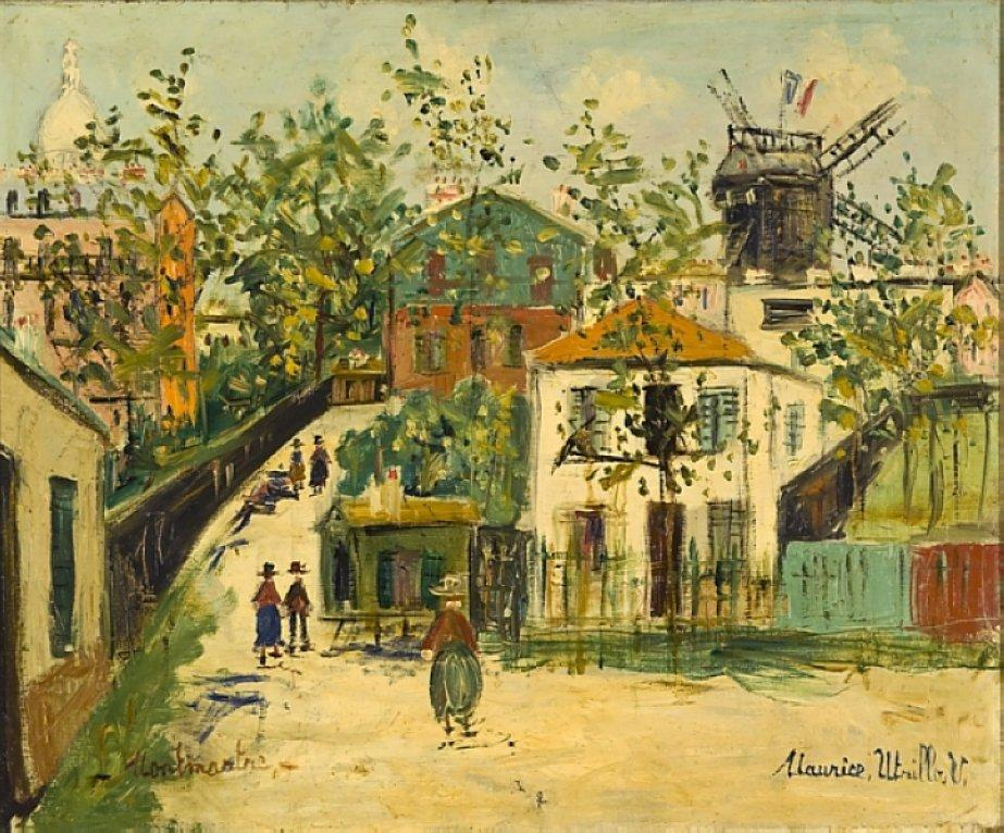 Montmartre - Maurice Utrillo