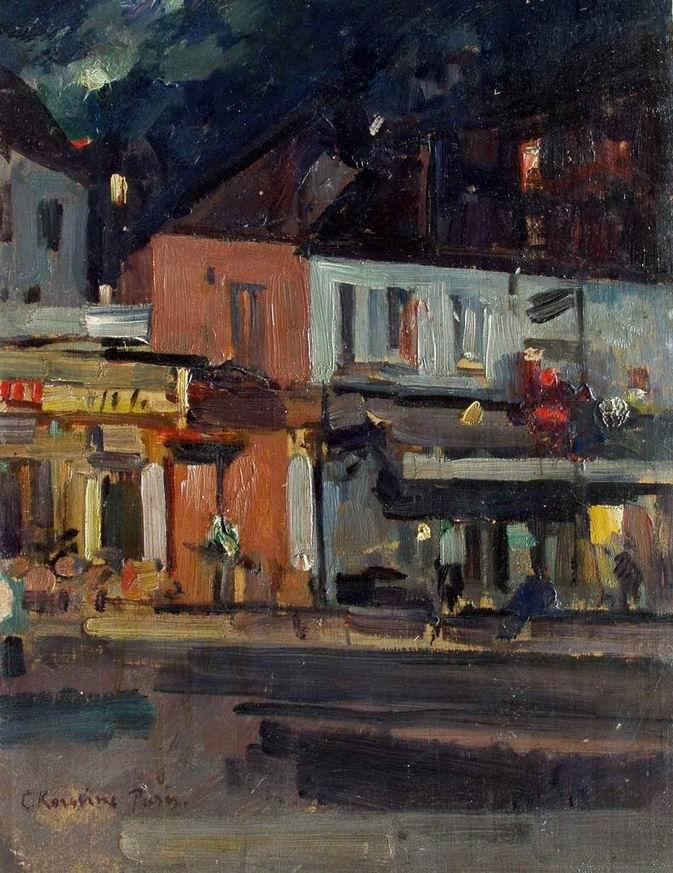 Moon Night - Konstantin Korovin