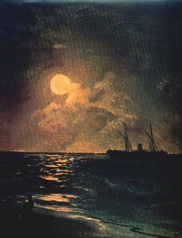 Moonlit Night - Ivan Aivazovsky