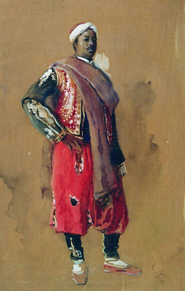 Moor - Konstantin Makovsky