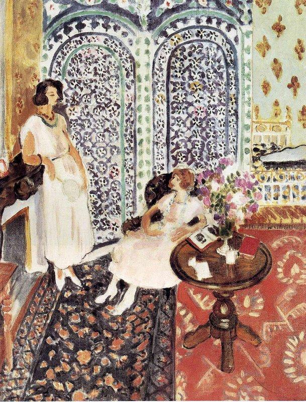 Moorish Screen - Henri Matisse