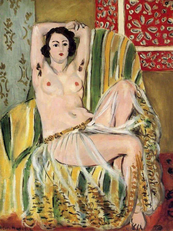 Moorish Woman with Upheld Arms - Henri Matisse