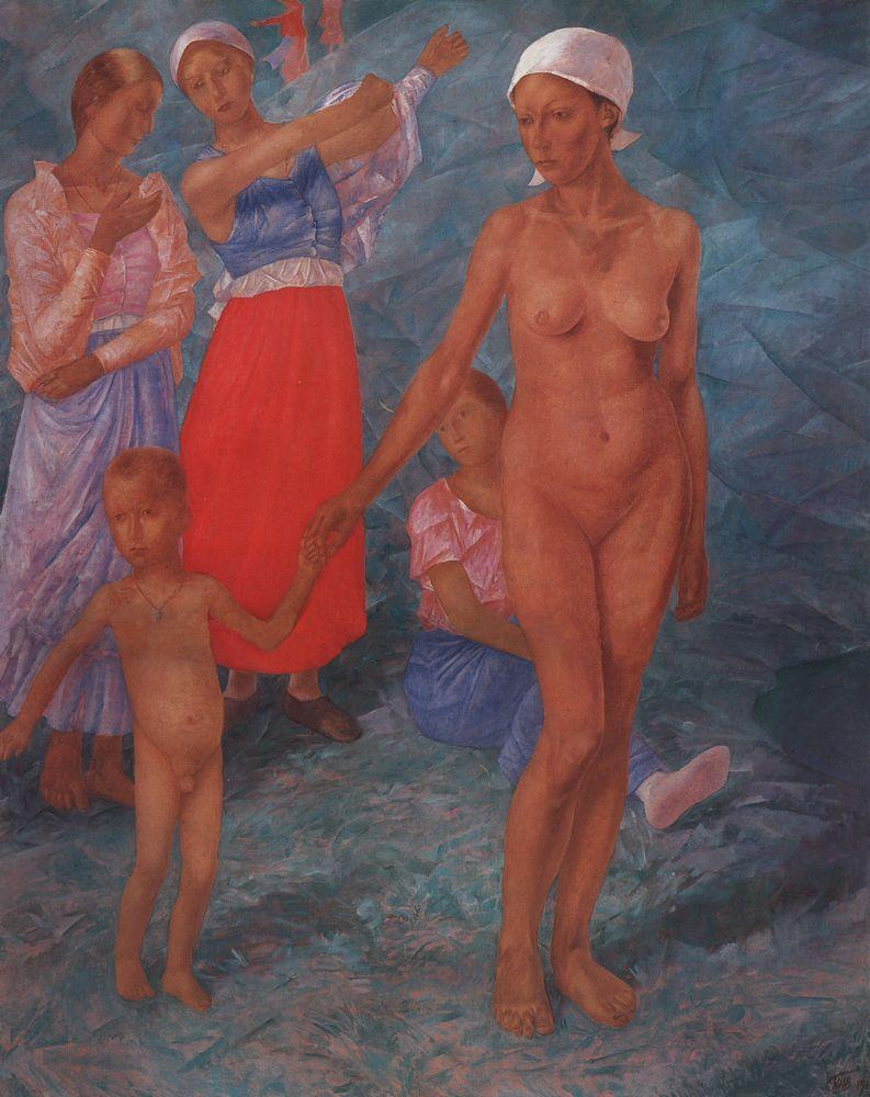 Morning  - Kuzma Petrov-Vodkin