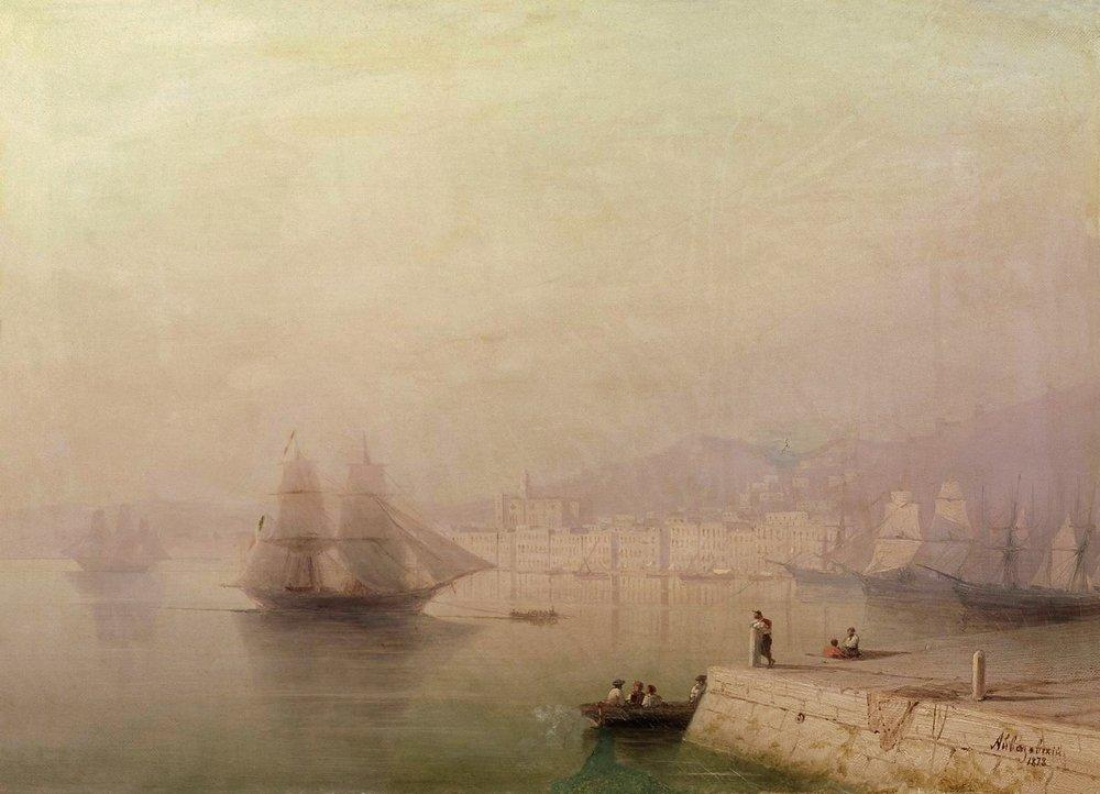 Morning. Bay - Ivan Aivazovsky