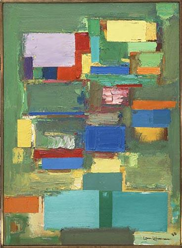 Morning Mist - Hans Hofmann