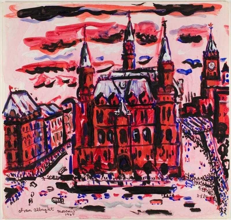 Moscow - Ivan Albright
