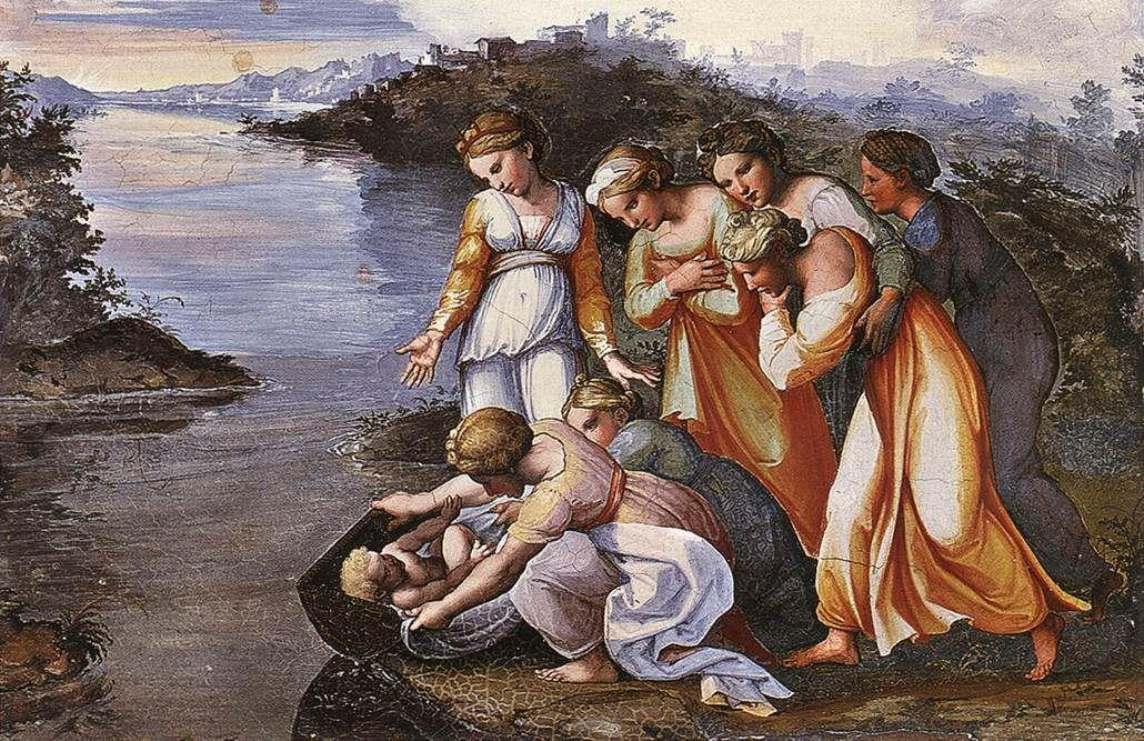 Moses Saved from the Water - Raphael