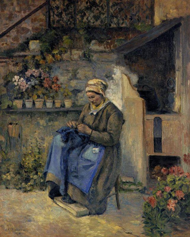 Mother Jolly - Camille Pissarro