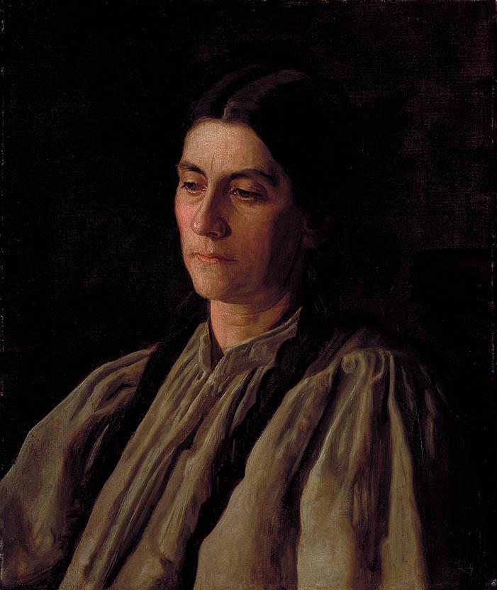Mother (Portrait of Annie Williams Gandy)  - Thomas Eakins