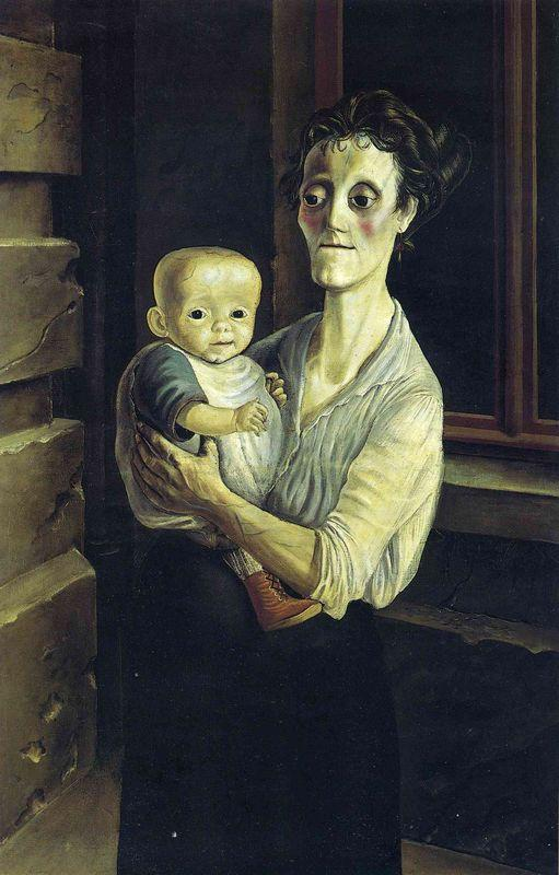 Mother with Child - Otto Dix