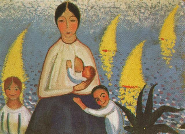Motherhood - Salvador Dali