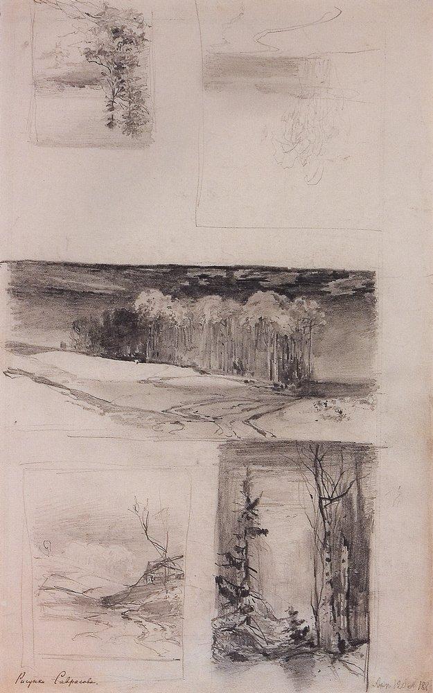 Motives of the Russian landscape - Aleksey Savrasov