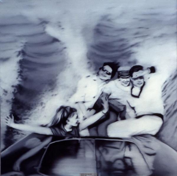 Motorboat - Gerhard Richter