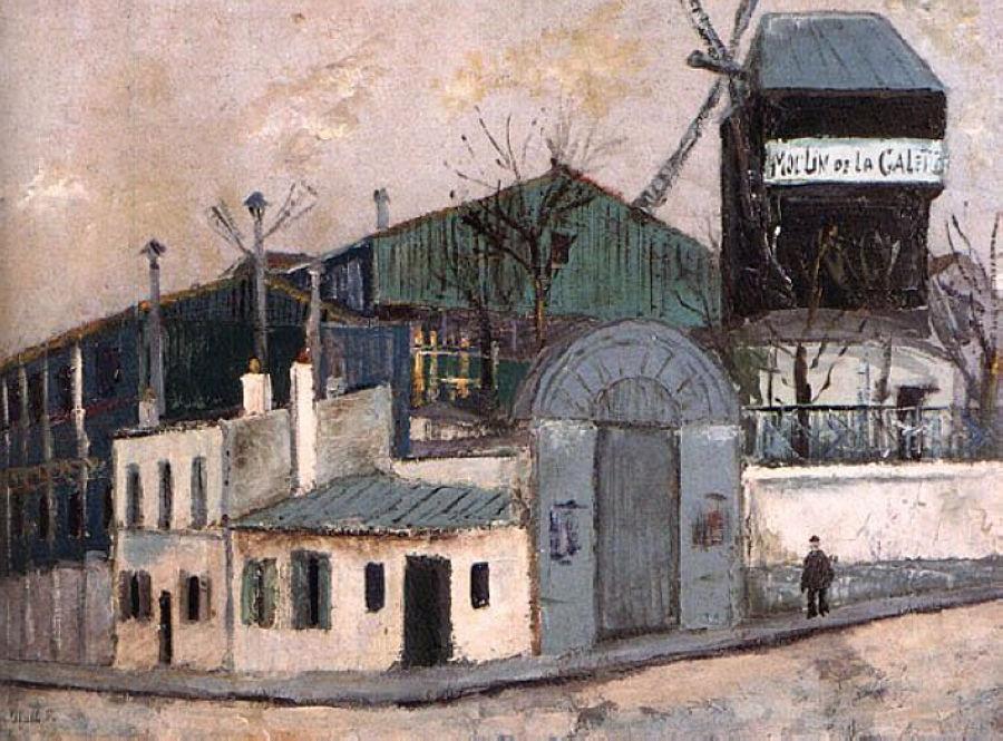 Moulin de la Galette - Maurice Utrillo