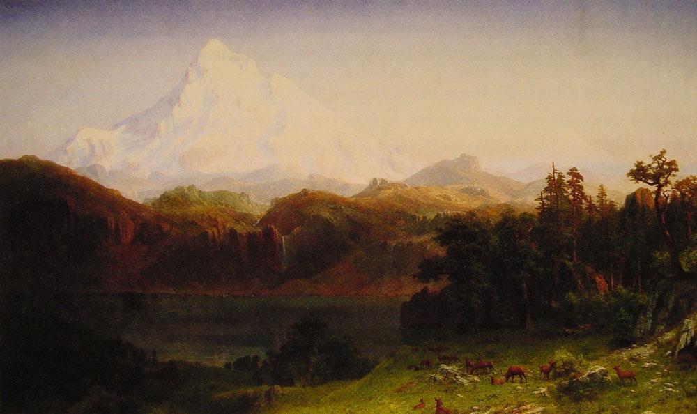 Mount Hood, Oregon - Albert Bierstadt
