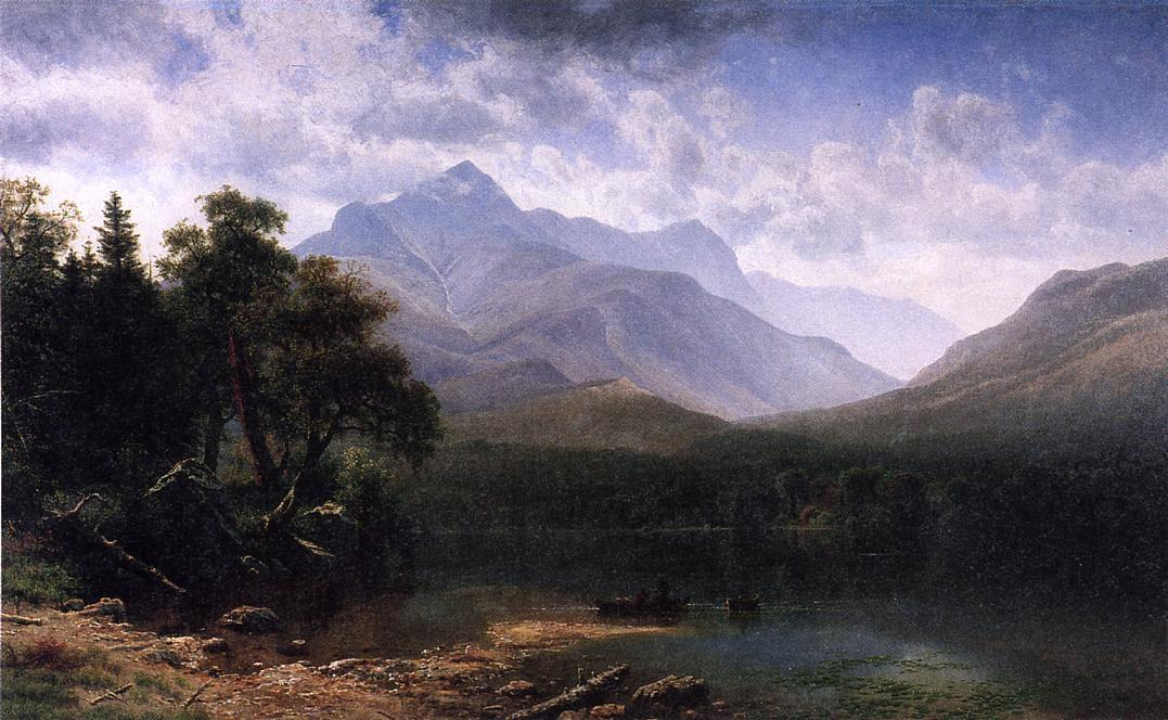 Mount Washington - Albert Bierstadt