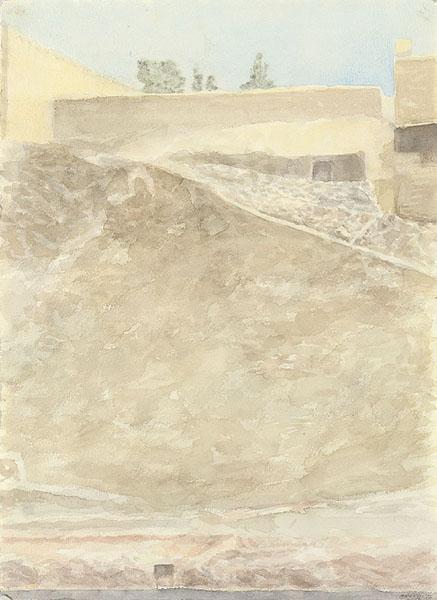 Mount Zion - Avigdor Arikha