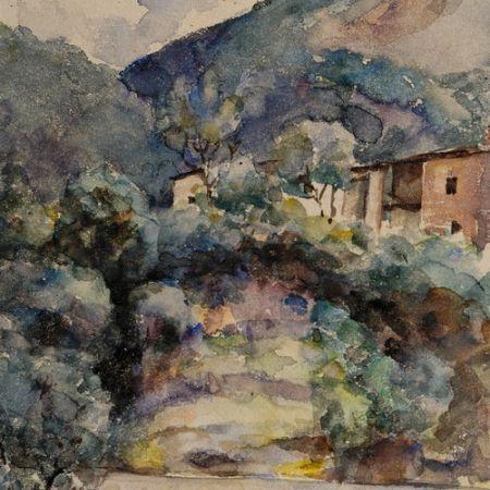 Mountain Landscape - Albert Bierstadt
