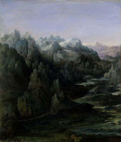 Mountain Range - Albrecht Altdorfer