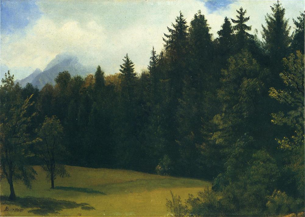Mountain Resort - Albert Bierstadt