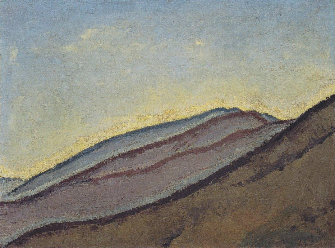 Mountain slope - Koloman Moser