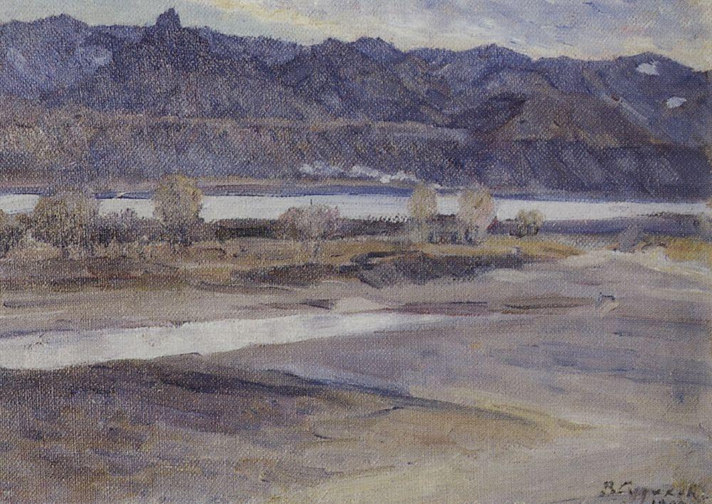 Mountains near Krasnoyarsk - Vasily Surikov