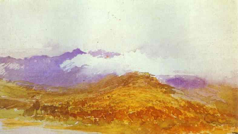 Mountains of the Crimea in Autumn - Fyodor Vasilyev