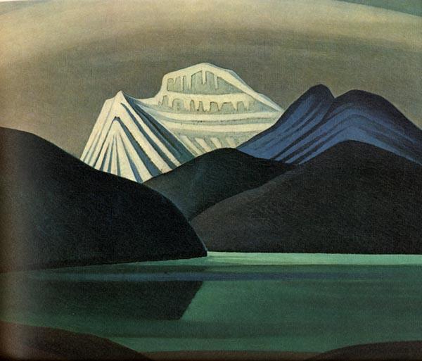 Mountaisn and Lake - Lawren Harris
