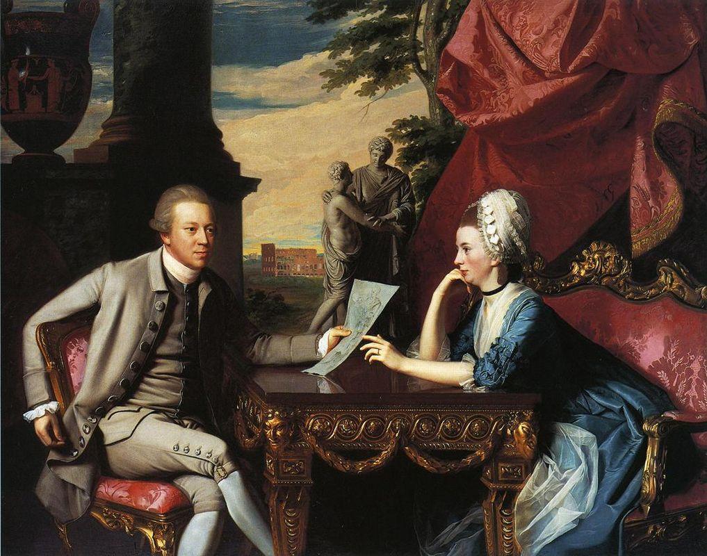 Mr.and Mrs.Ralph Izard - John Singleton Copley
