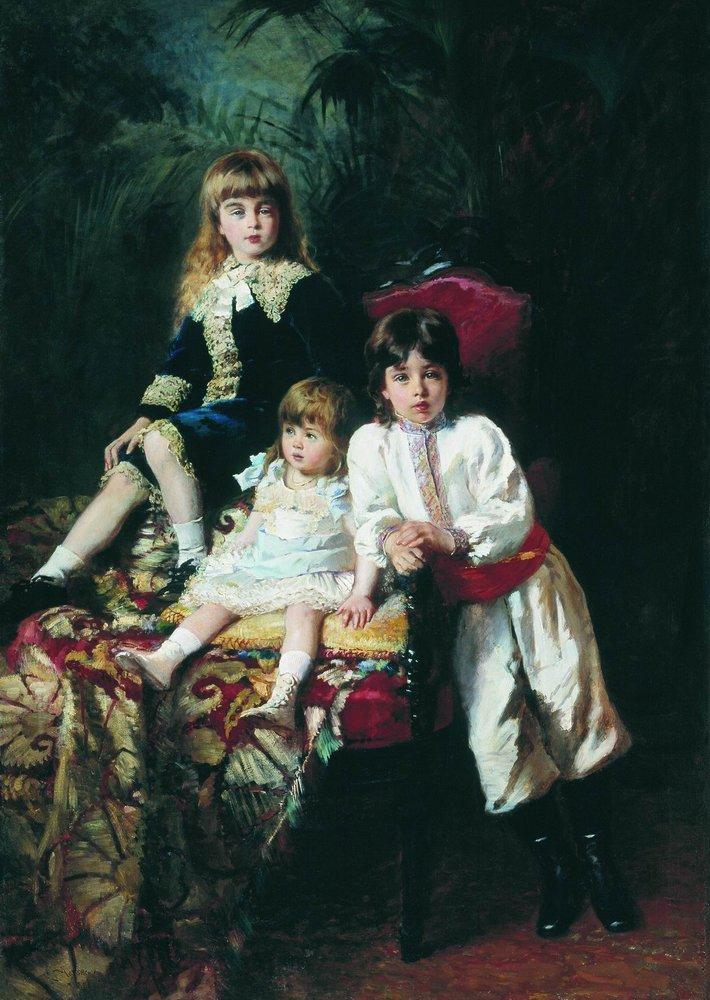 Mr. Balashov's Children - Konstantin Makovsky