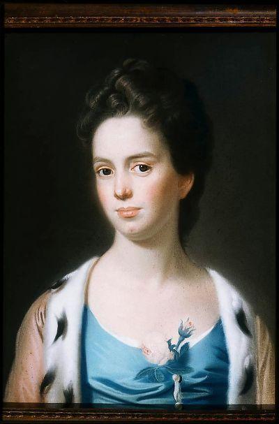 Mrs. Joseph Barrell (Hannah Fitch) - John Singleton Copley