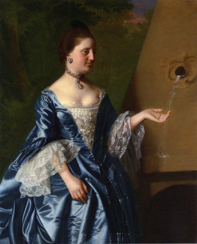 Mrs.Alice Hooper - John Singleton Copley