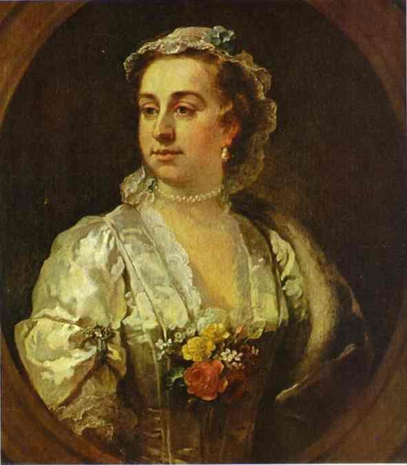 Mrs  Catherine Edwards  - William Hogarth