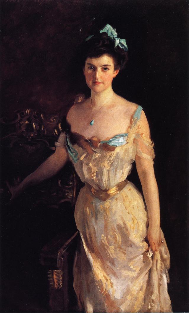 Mrs. Charles Pelham Curtis - John Singer Sargent