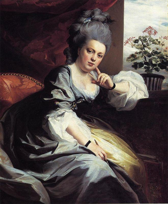Mrs.Clark Gayton - John Singleton Copley