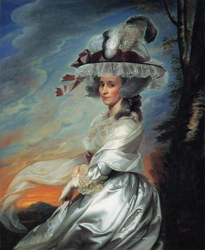 Mrs.Daniel Denison Rogers - John Singleton Copley