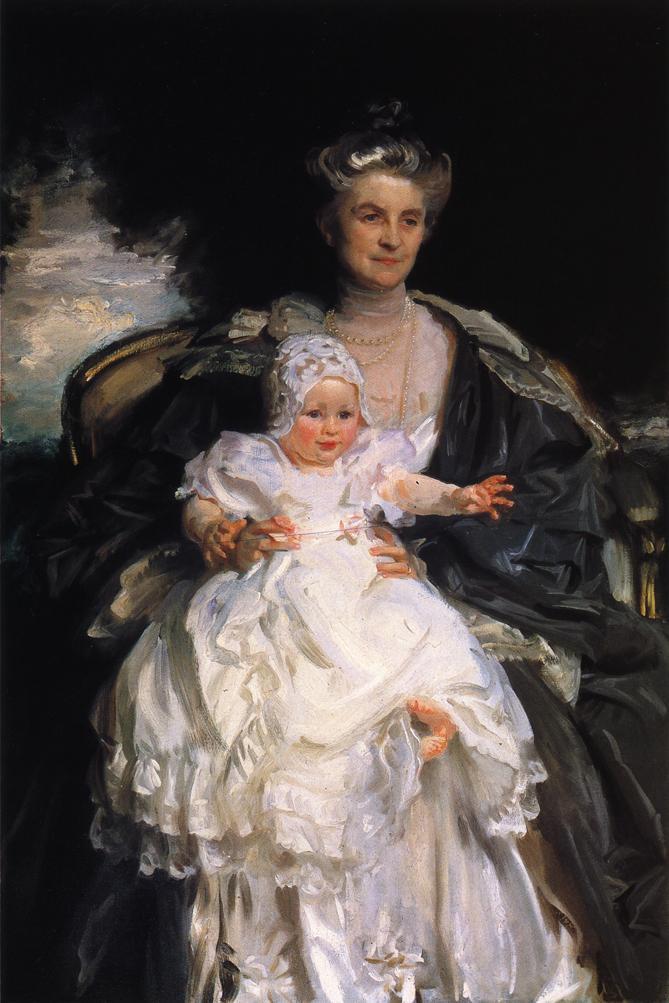Mrs. Henry Phipps and Her Granson Winston - John Singer Sargent