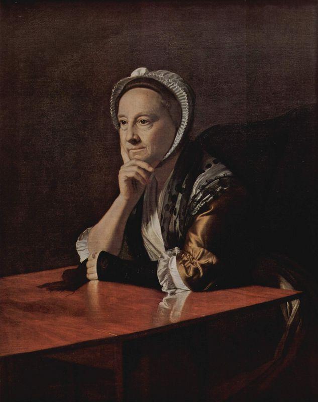 Mrs.Humphrey Devereux - John Singleton Copley