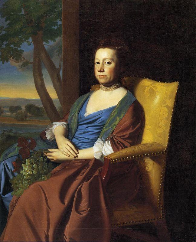Mrs. Isaac Smith - John Singleton Copley