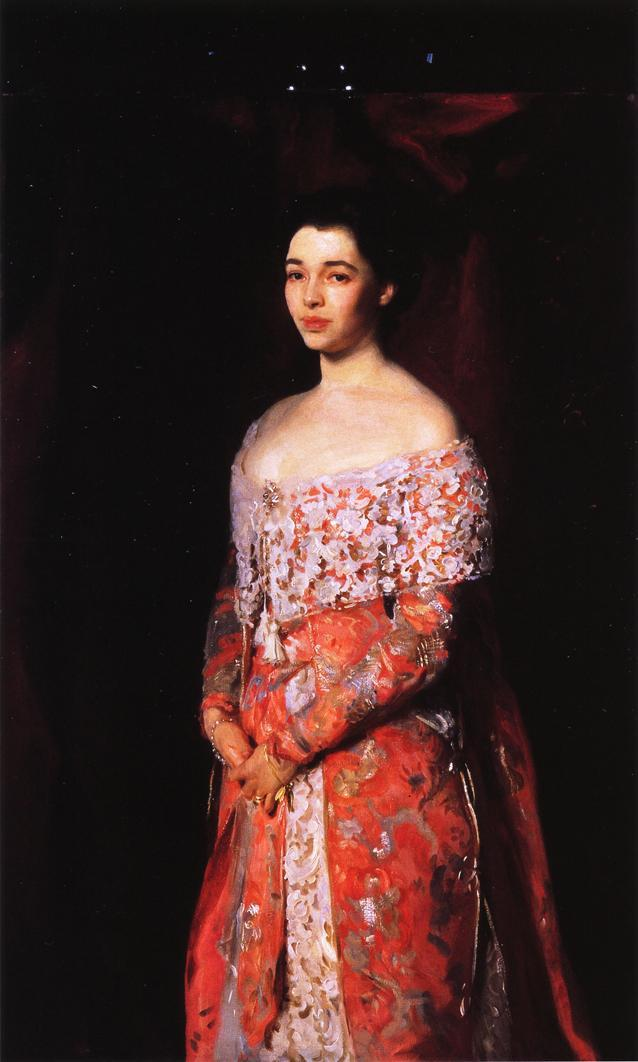 Mrs. Leopold Hirsch - John Singer Sargent